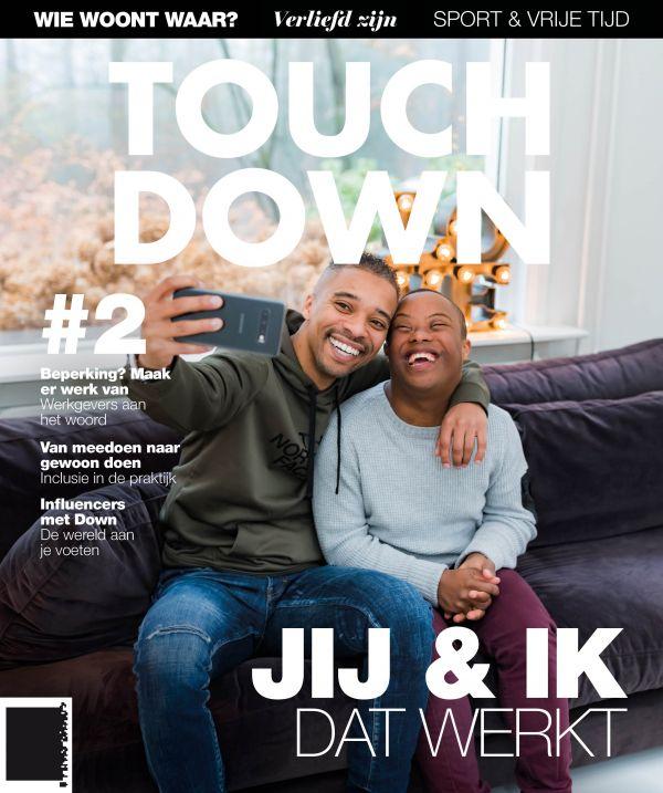Touch down magazine