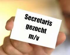 Secretaris gezocht!